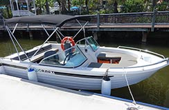 Bowrider hire boat Gold Coast