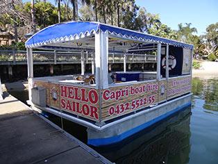 Bbq boat hire gold coast broadwater heran